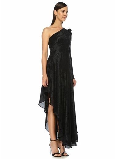Amur Amur Esmeralda  Asimetrik Maksi Abiye Elbise 101455167 Siyah